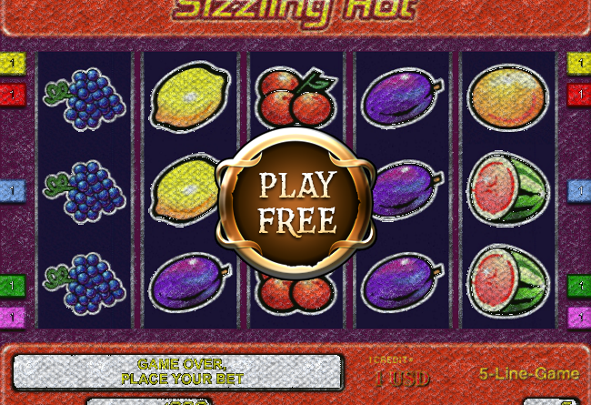 online casino free bonus sizzling hot games